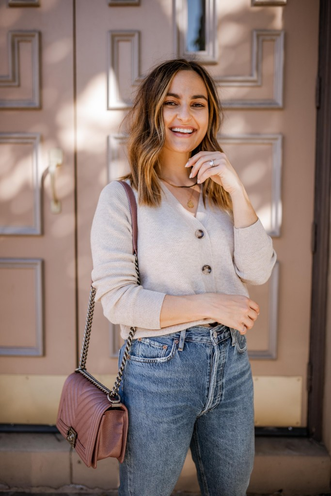 10 Cute Neutral Cardigans Under $100 You Can Wear Now and Into Spring | Charmed by Camille