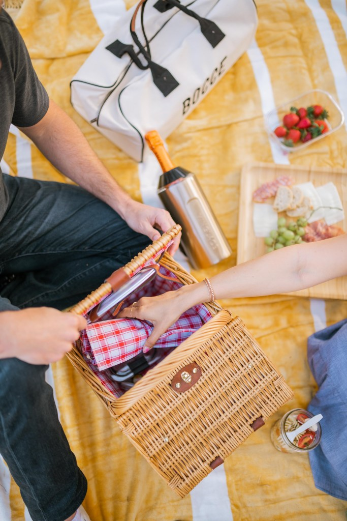 Summer Picnic Essentials, Picnic Basket   Charmed by Camille