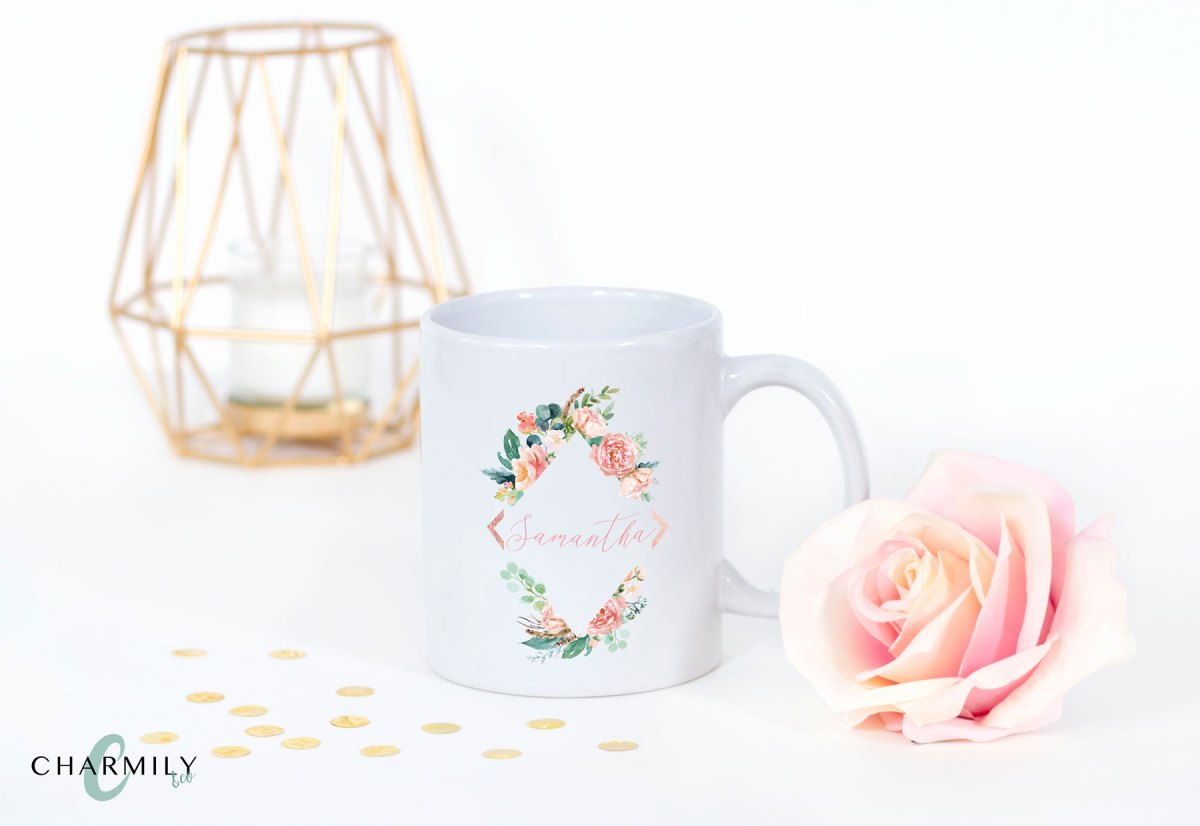 blush_floral_diamond_mug