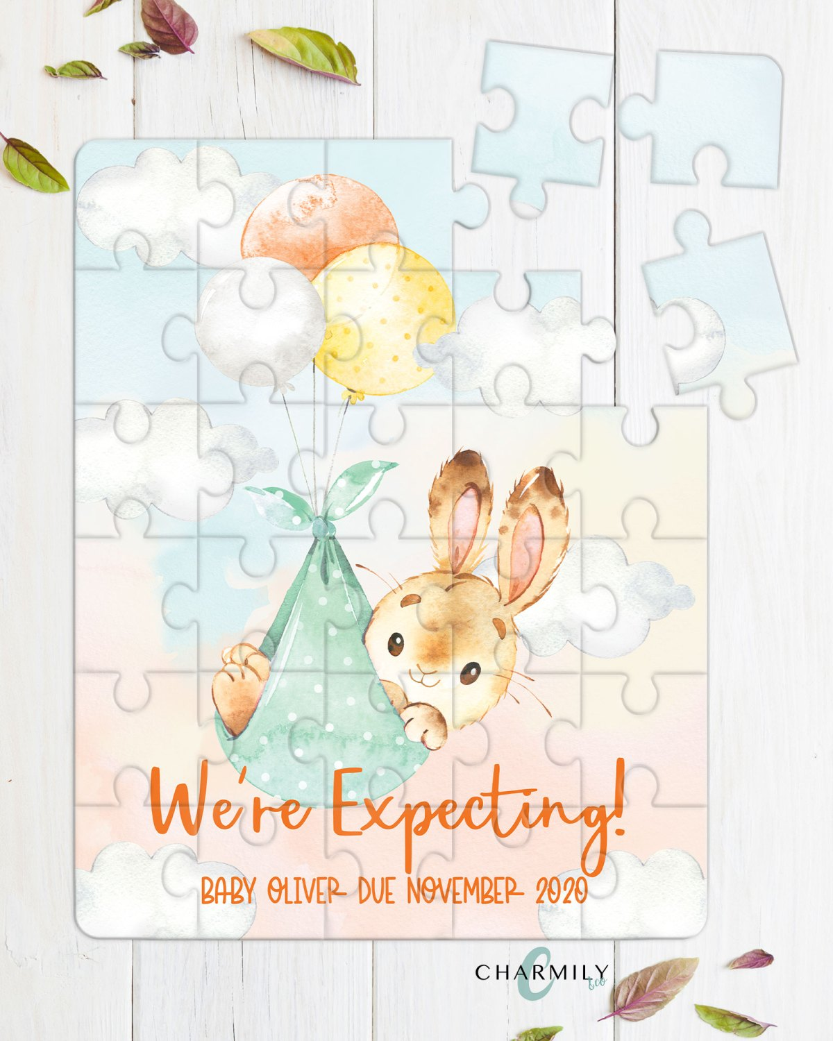 Bunny-expecting-Puzzle-Mockup