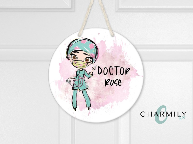 Doctor Round Wall Hanger