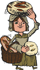 The charming Zingerman's bread lady