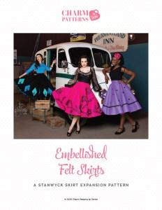 Embellished-Felt-Skirts-Instructions-Charm-Patterns