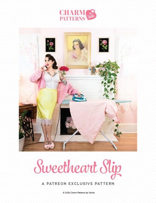 Sweetheart Slip Patreon Pattern by Gertie