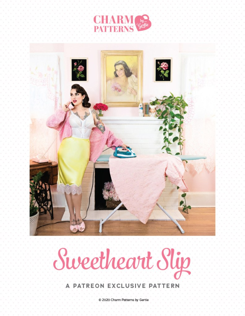 Sweetheart Slip Patreon Pattern by Gertie