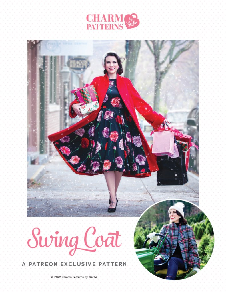 Swing Coat Patreon Pattern by Gertie