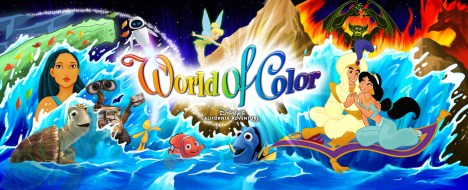 Disneyland Resort Debuts World of Color Main