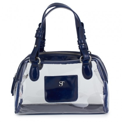 SuperTrash Clear Perspex Satchel Bag CharmPosh