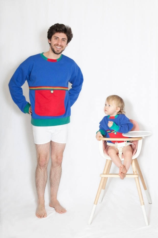 Adult Size Baby Clothes, Hot or Not This Dad Designs Adult Size Baby Clothes