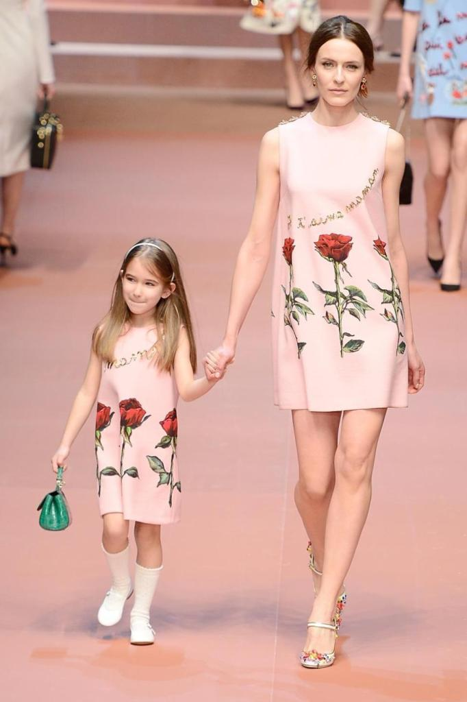 Dolce Gabbana Milan Fashion Week Twin Looks CharmPosh