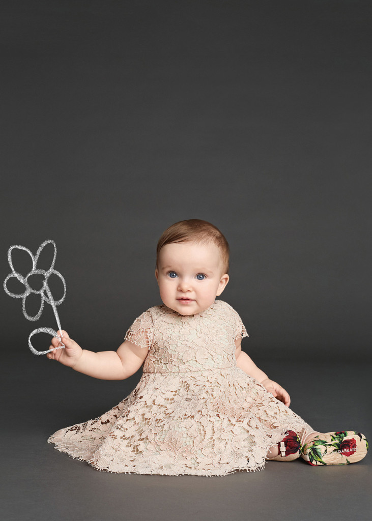 Baby Girl Clothes Dolce and Gabbana Winter 2016 Dazzling CharmPosh