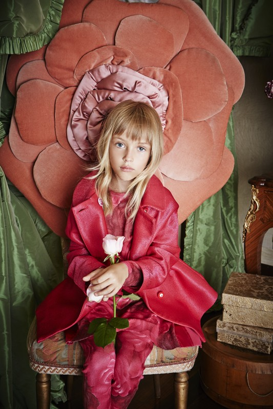 Miss Blumarine Fall Winter 2015 2016 CharmPosh Kids Clothes 1