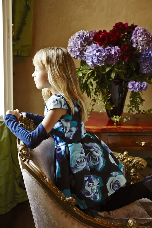 Miss Blumarine Fall Winter 2015 2016 CharmPosh Kids Clothes 2