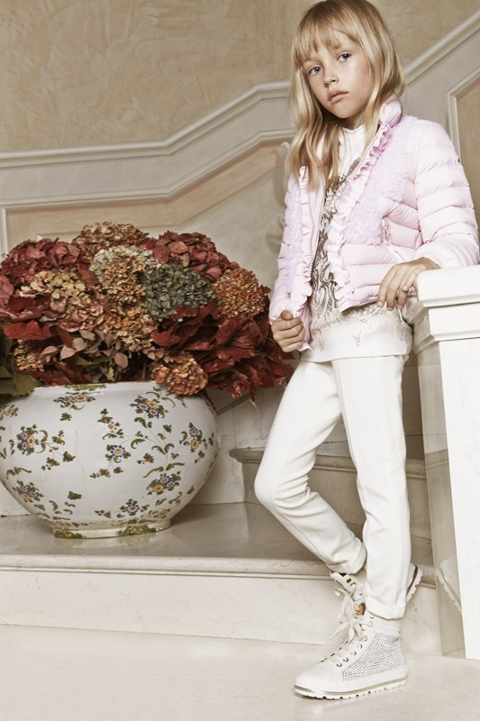 Miss Blumarine Fall Winter 2015 2016 CharmPosh Kids Clothes 7