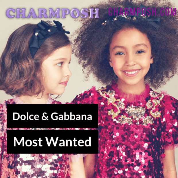 Magical Girls Pink Sequin and Jewel Dress by Dolce and Gabbana 3 CharmPosh