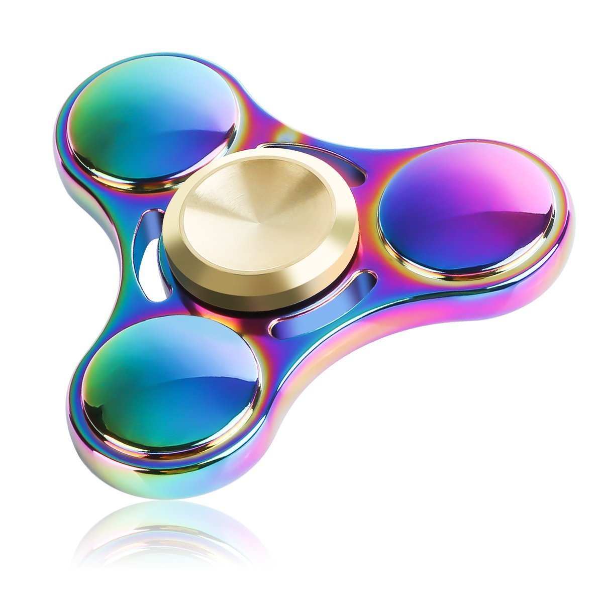 Fidget Tri-Spinner Toy Relieves Stress Anxitey boredom Best for ADD ADHD