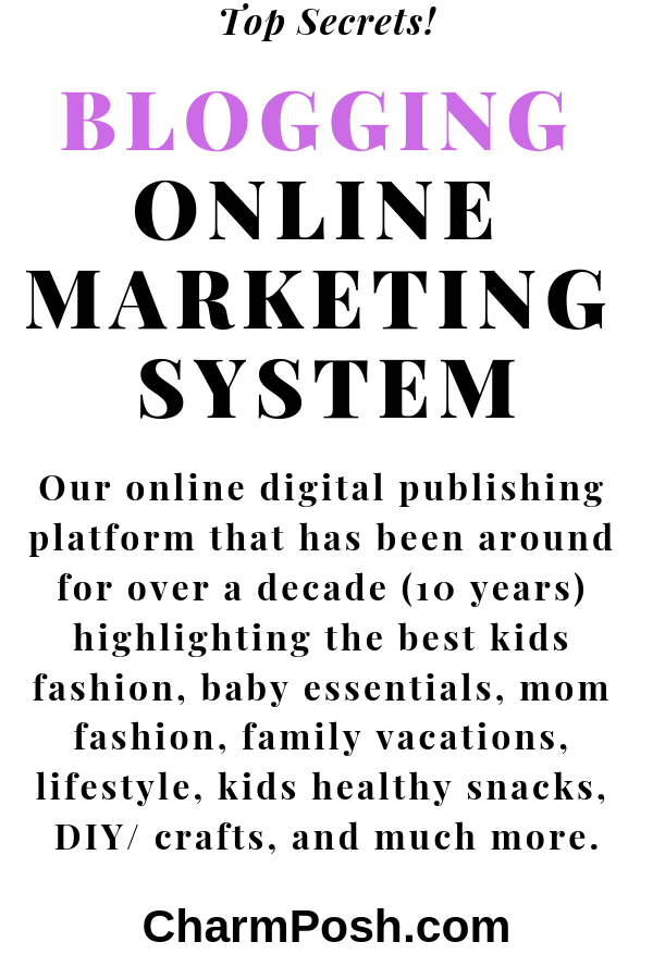 Blogging Online Marketing System secrets by CharmPosh