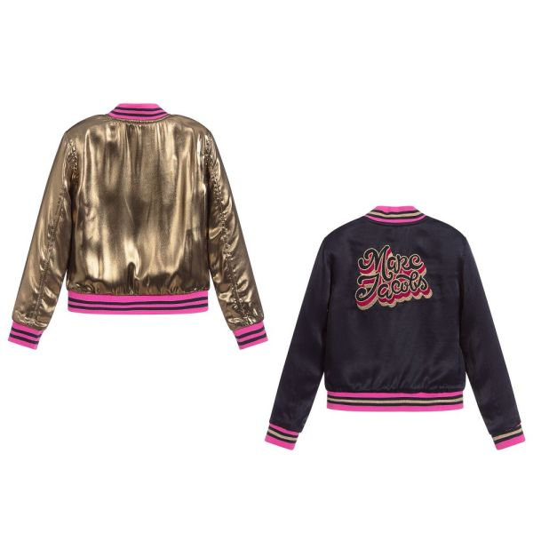 Reversible Bomber Jacket For Girls by Little Marc Jacobs CharmPosh main