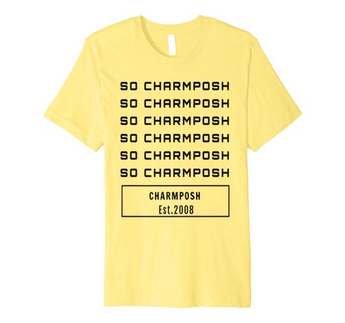 SO CHARMPOSH T-Shirt CharmPosh Yellow