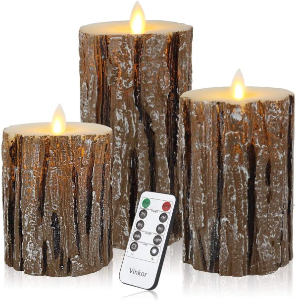 Flameless Candles Flickering Candles By Vinkor via CharmPosh Christmas Decorations