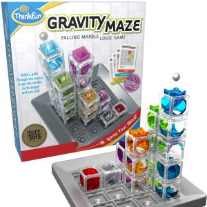 Gravity Maze Marble Run Logic Game and STEM Toy by ThinkFun via CharmPosh main