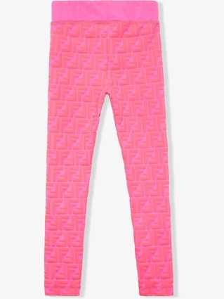 CharmPosh-x-Farfetch-Girls-Designer-Clothes-Fendi-Prints-On-Monogram-Leggings-CharmPosh-2-1