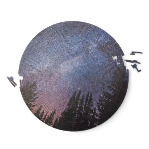 Wooden Puzzle Night Sky CharmPosh
