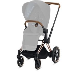 CYBEX e-Priam Frame In Rose Gold CharmPosh