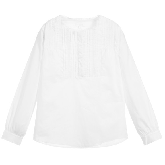 Chloe-White-Cotton-Blouse-For-Young-Girls-CharmPosh