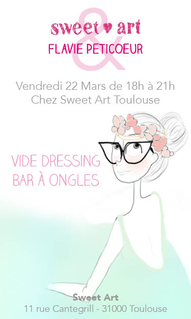 Flyer Vide Dressing Flavie Petitcoeur
