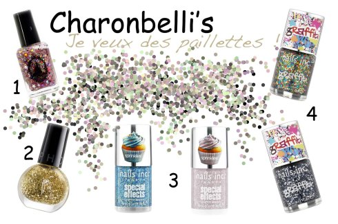 Je veux des paillettes ! - Charonbelli's blog beauté
