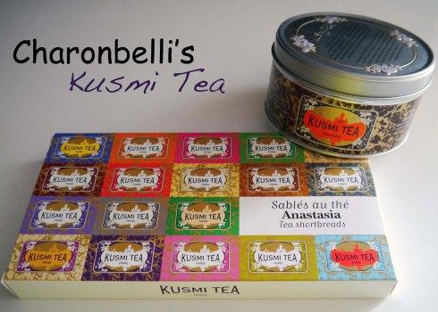Kusmi Tea, ce n'est pas que du thé - Charonbelli's blog de cuisine