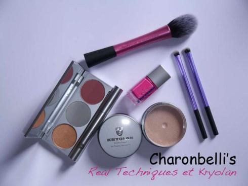 Les nouveautés de mon placard beauté - Real Techniques et Kryolan - Charonbelli's blog beauté