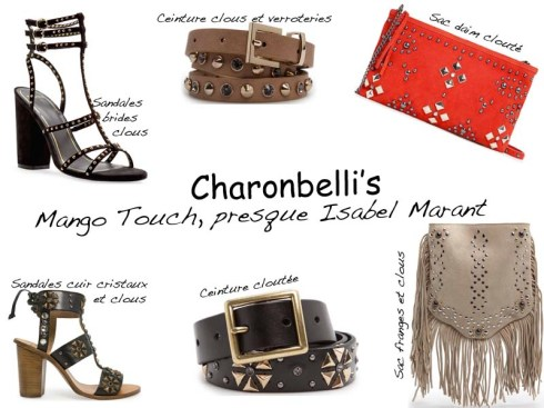 Mango Touch, presque Isabel Marant (*sélection shopping*) - Charonbelli's blog mode