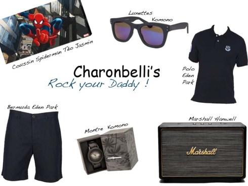 Rock your daddy, Sélection fête des pères - Charonbelli's blog mode