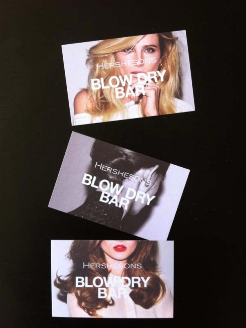 Hershesons blow dry bar One New Change London - Charonbelli's blog mode