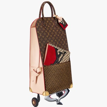 shopping-trolley-christian-louboutin-icones-et-iconaclastes-celebrating-monogram-louis-vuitton-charonbellis-blog-mode