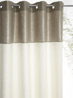 rideau-bicolore-argentecc81-en-lin-cyrillus