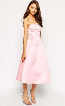 Robe de bal mi-longue en satin True Decadence Tall - Charonbelli's blog mode copie