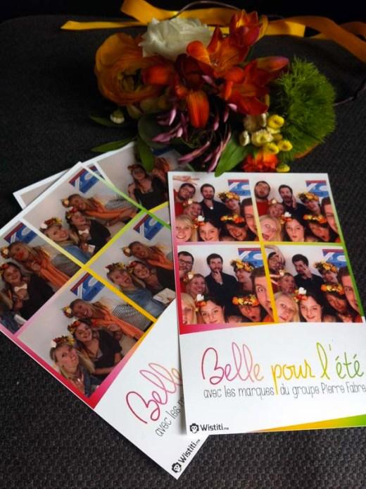 Cabine connectée Wistiti (1) - L'après-midi Belle pour l'été avec les marques du groupe Pierre Fabre - Charonbelli's blog beauté
