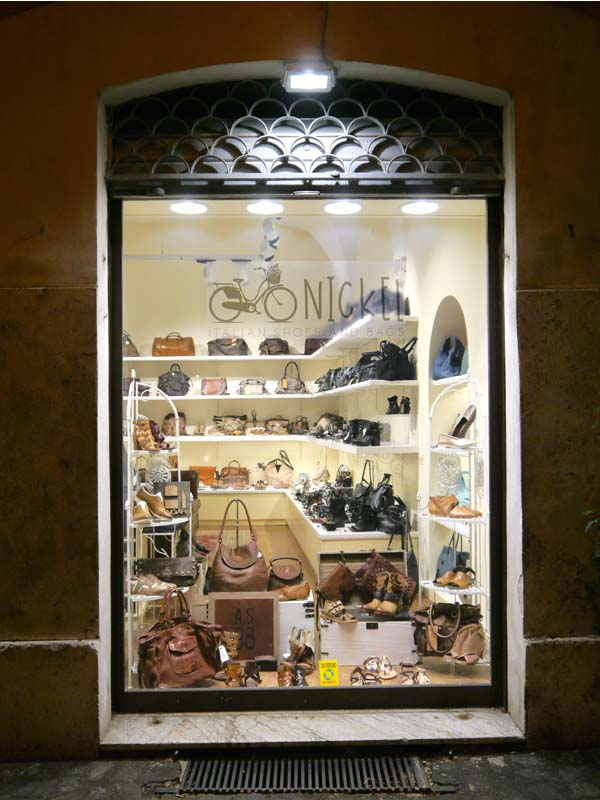Nickel italian shoes and bags, LA boutique avec les plus beaux sacs de Rome - Charonbelli's blog