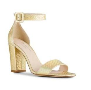 Sandale Shine Anne Valérie Hash X Minelli - Ma sélection shopping holographique - Charonbelli's blog mode