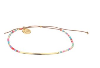 Bracelet cordon Gatsby Un jour mon prince - Le stacking, on en parle ? - Charonbelli's blog mode