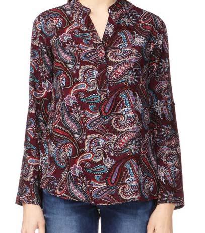 Top fluide imprimé Nanou by MonShowRoom - Mes envies shopping pour les soldes sur MonShowRoom - Charonbelli's blog mode