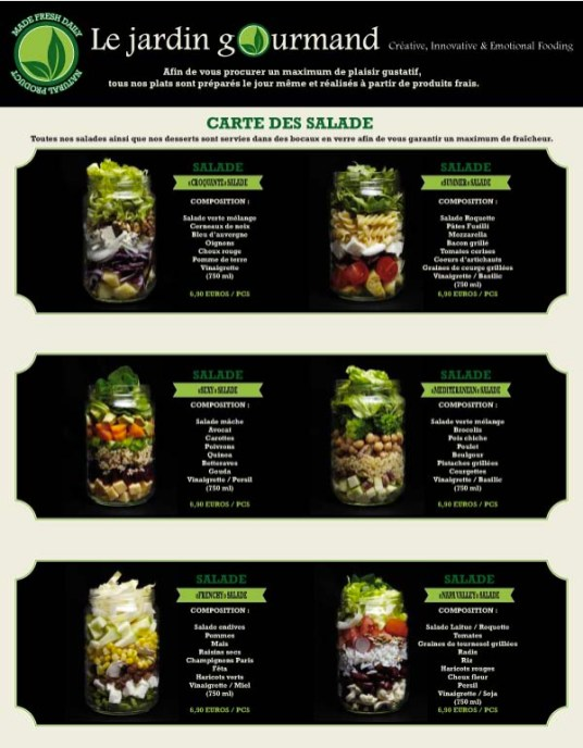 Le Jardin Gourmand - le test ! Carte (1) - Charonbelli's blog lifestyle Toulouse