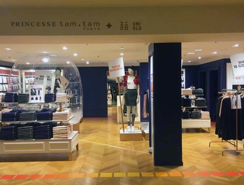 Princesse Tam Tam X Uniqlo - le pop up store des Galeries Lafayette Haussmann est ouvert ! - Photo à la Une - Charonbelli's blog mode