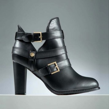 Boots pieds larges Stéphanie ZwickyXKiabi - La collection Stéphanie Zwicky X Kiabi enfin disponible ! - Charonbelli's blog mode