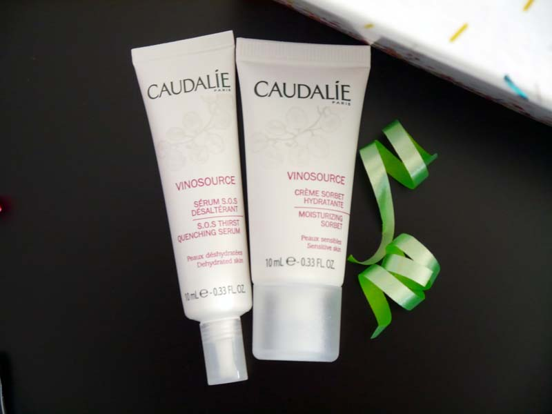 Caudalie Vinosource - Look Fantastic 1st Birthday beauty box - le récap ! - Charonbelli's blog beauté