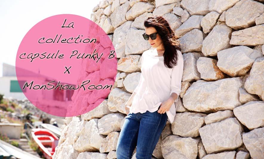 La collection capsule Punky B X MonShowRoom - Photo à la Une - Charonbelli's blog mode