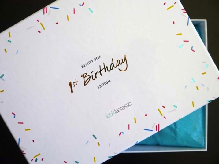Look Fantastic 1st Birthday beauty box - le récap ! - Charonbelli's blog beauté
